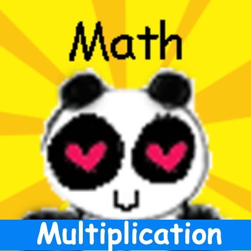 kid math jump multiplication icon