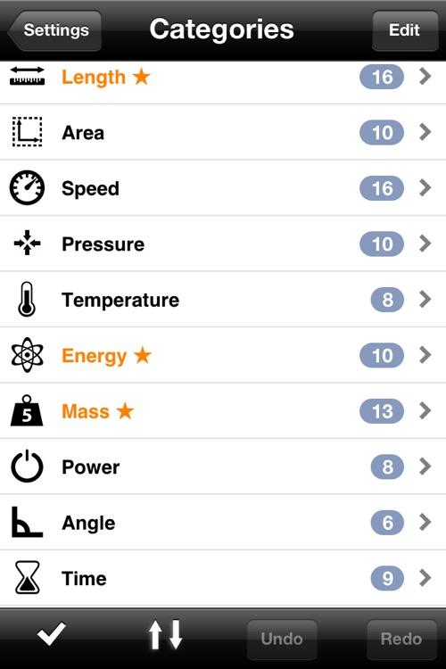 Measures Lite - Unit Converter screenshot-3