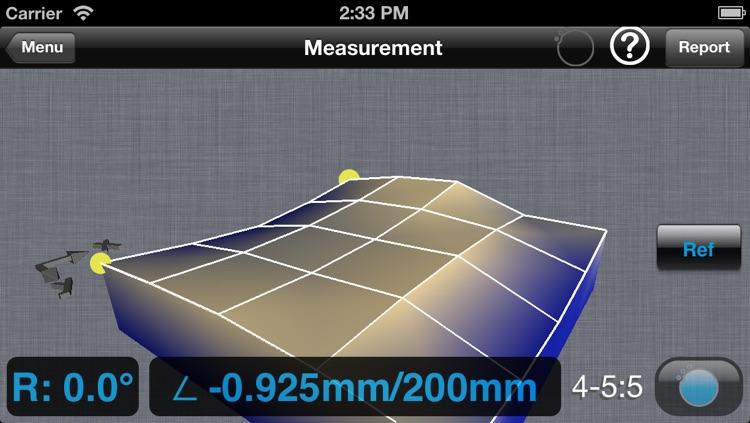 Flatness for ALiSENSOR™ Level