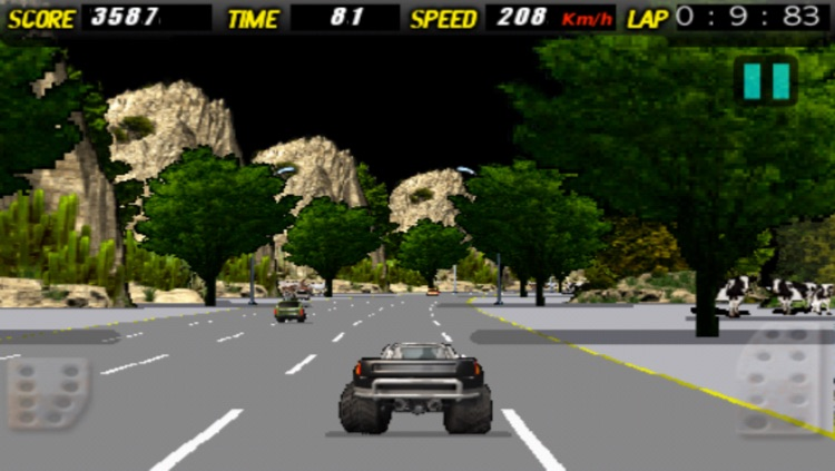 A Super Monster Truck Racing 3D- Free Real Multiplayer Offroad Race Game screenshot-3