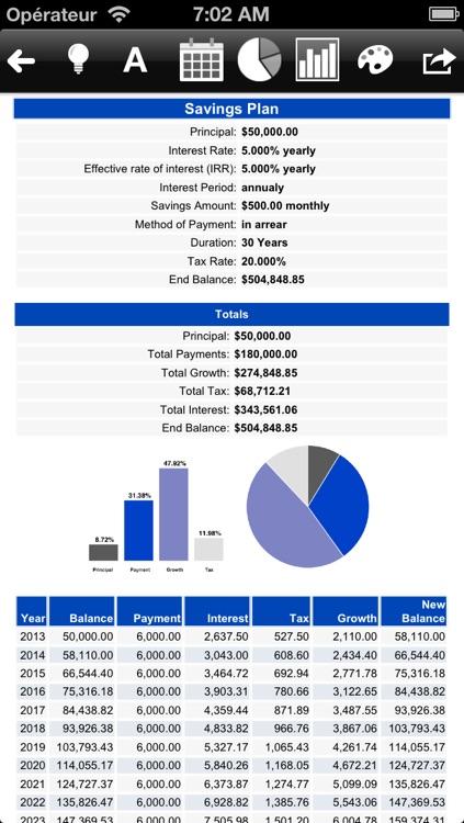 Loan and mortgage calculator - MarkMoney screenshot-4
