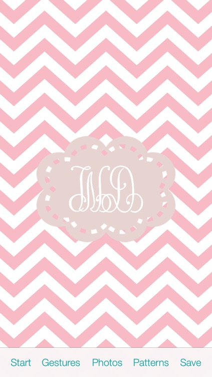 The Monogram by WayDC - DIY background & wallpapers create custom fonts & app icons for home & lock screen themes skin design art maker screenshot-4