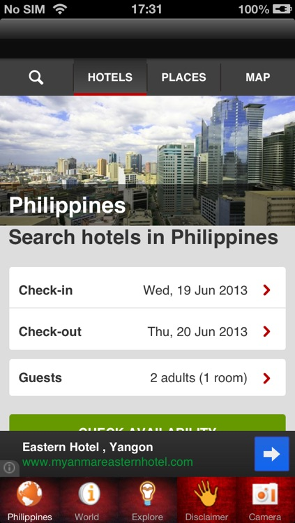 Philippines Hotel Booking 80% Off