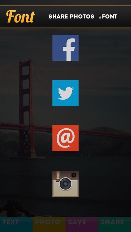 Font - Text Overlay for Photos screenshot-4