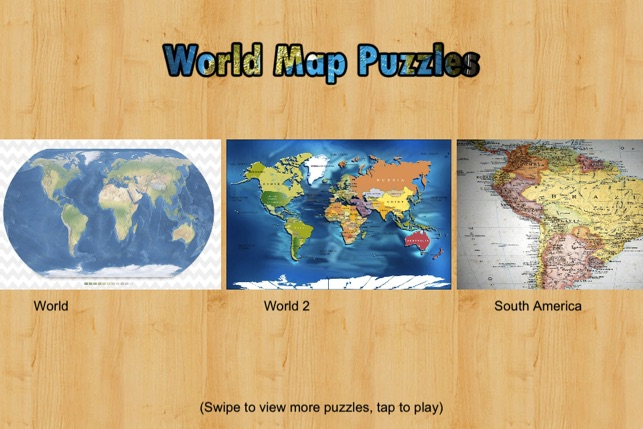 World map puzzle jigsaw on the app store world map puzzle jigsaw on the app store gumiabroncs Image collections