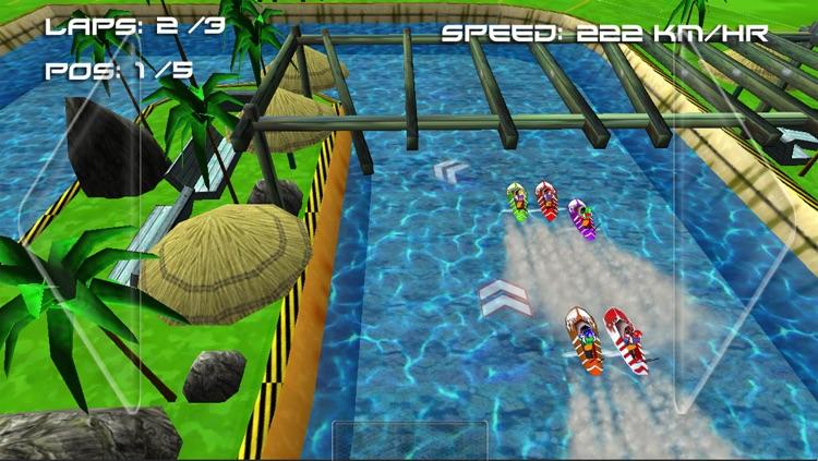 Boat Racing Challenge ( 3D Racing Games ) screenshot-4