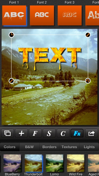 Textmatic - Text on photo and photo effects for Instagram