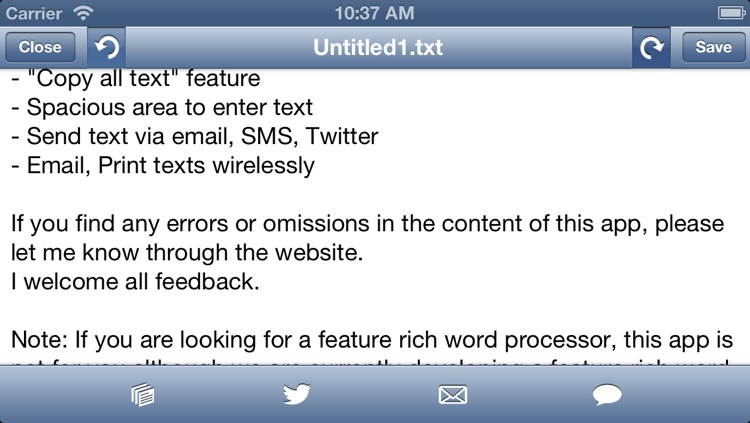 Social writer: Fast keyboard to write plain text drafts screenshot-4