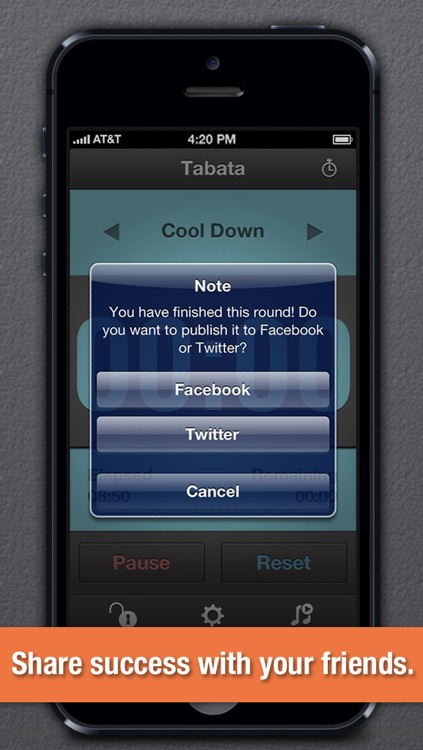 Round Timer - For Fitness and Workouts screenshot-3