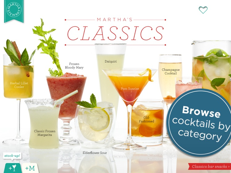 Martha Stewart Makes Cocktails