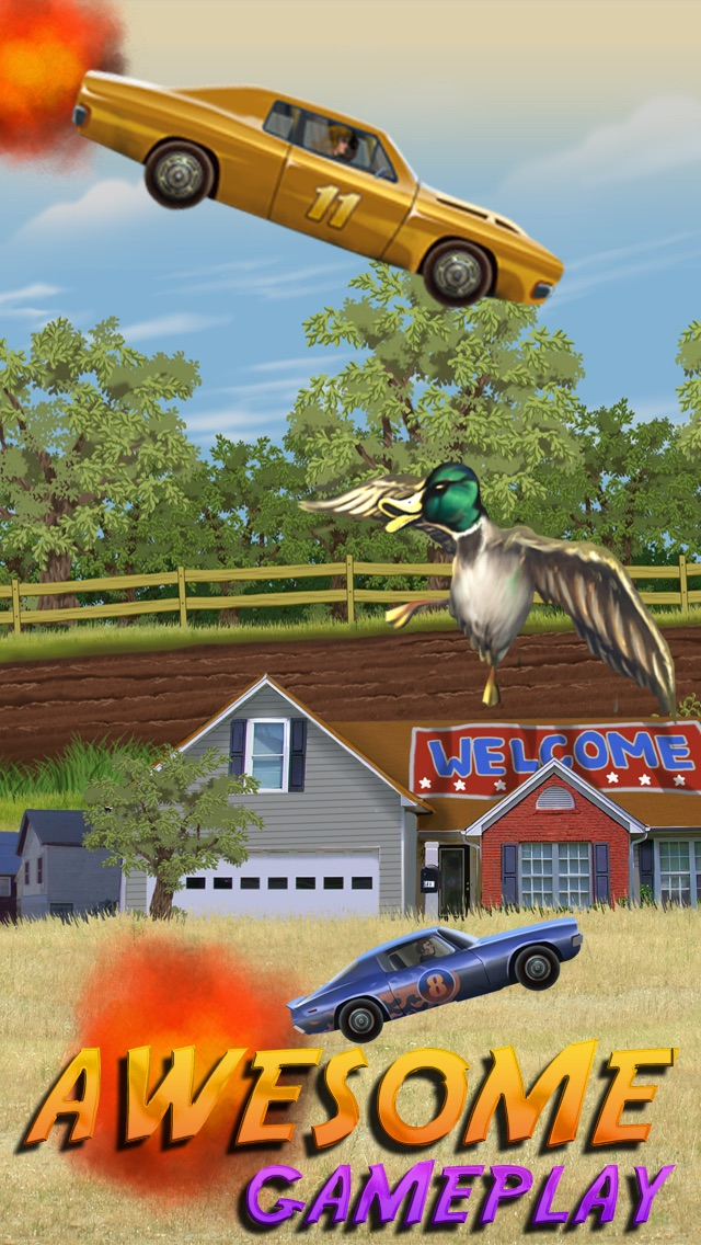 Abbeville Redneck Duck Chase - Turbo Car Racing Game hack tool