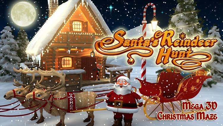 Santa's Reindeer Hunt - Mega 3D Christmas Maze
