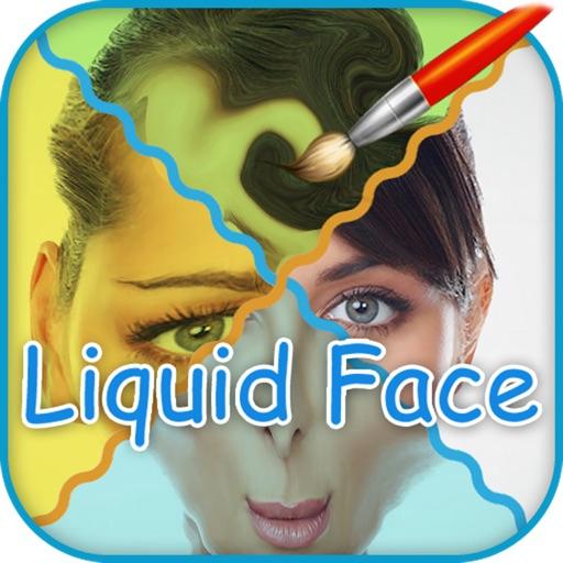 Liquid Face , Comic Face Effects , distort - Funny Photo Warp, Deform , Booth تغير و تشويه الوجه بشكل مضحك تكبير الأنف والعين رسم وتلوين