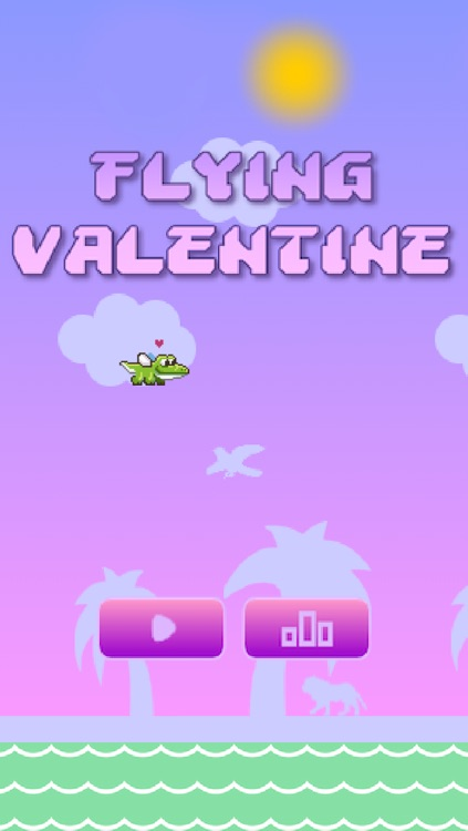 Flying Valentine