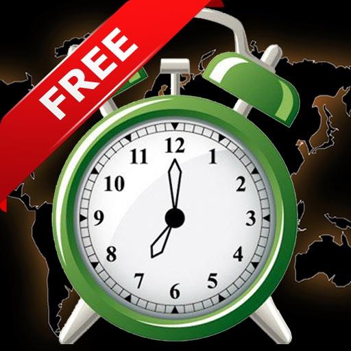 3X: World Clock, Alarm Clock & Timer Clock FREE iOS App