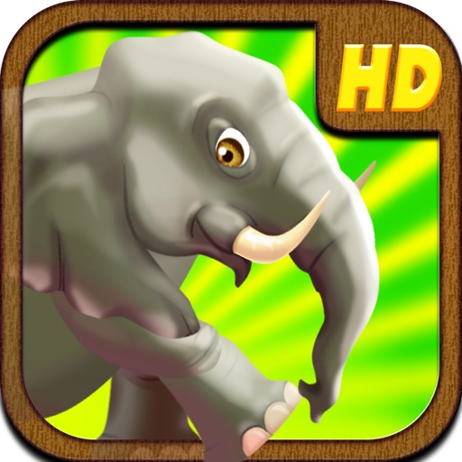 An Elephant Safari Run in Hostile Expedition PRO Multiplayer