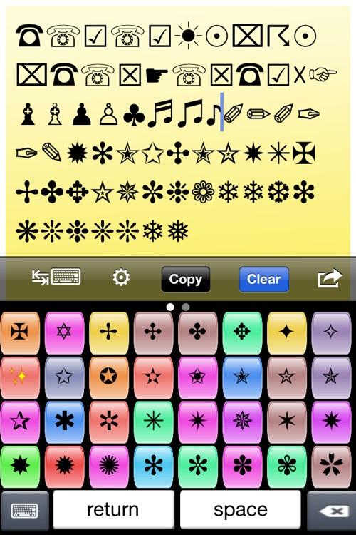 iSymbols screenshot-4