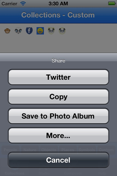 Emoji Studio - Create your own emojis screenshot-3