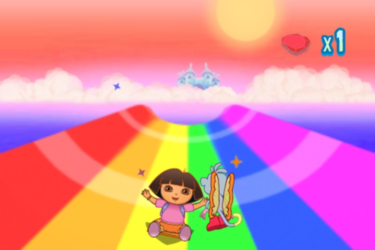 Dora Saves the Crystal Kingdom: Rainbow Ride Lite