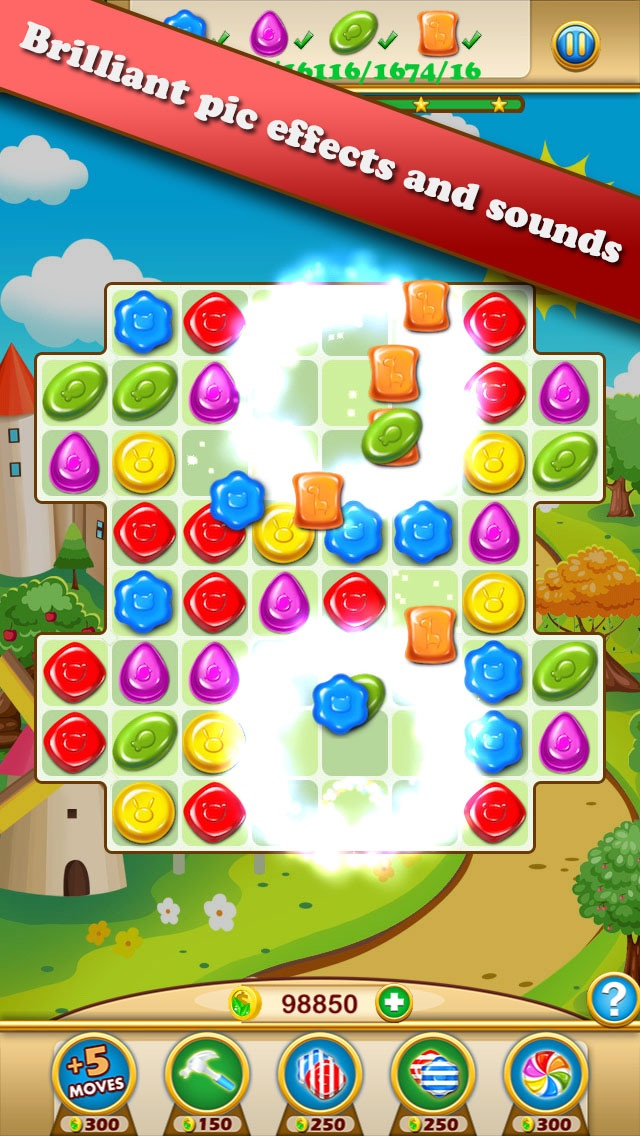 Candy Heroes Screenshot on iOS
