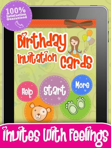 Screenshot 1 For Birthday Invitation Cards