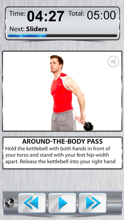 KettleBell & Dumbell Workout FREE - 5/7/10 Minute Weight Training Exercises