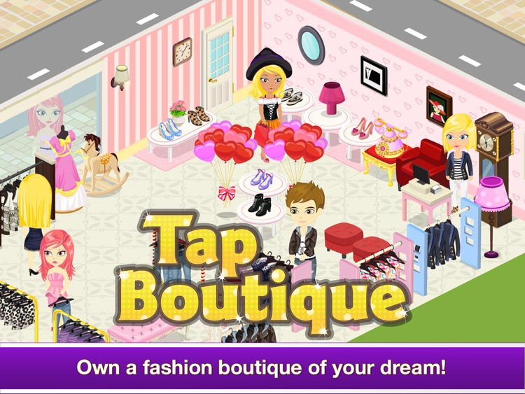 Tap Boutique for iPad - Girl Shopping Covet Fashion Story Game screenshot-0