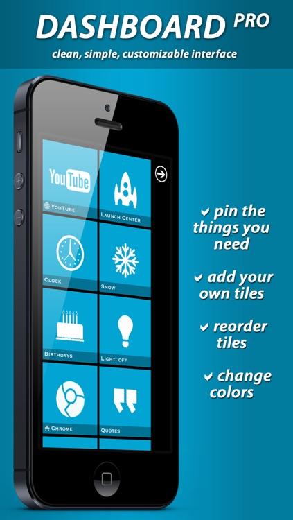 Dashboard Pro screenshot-3