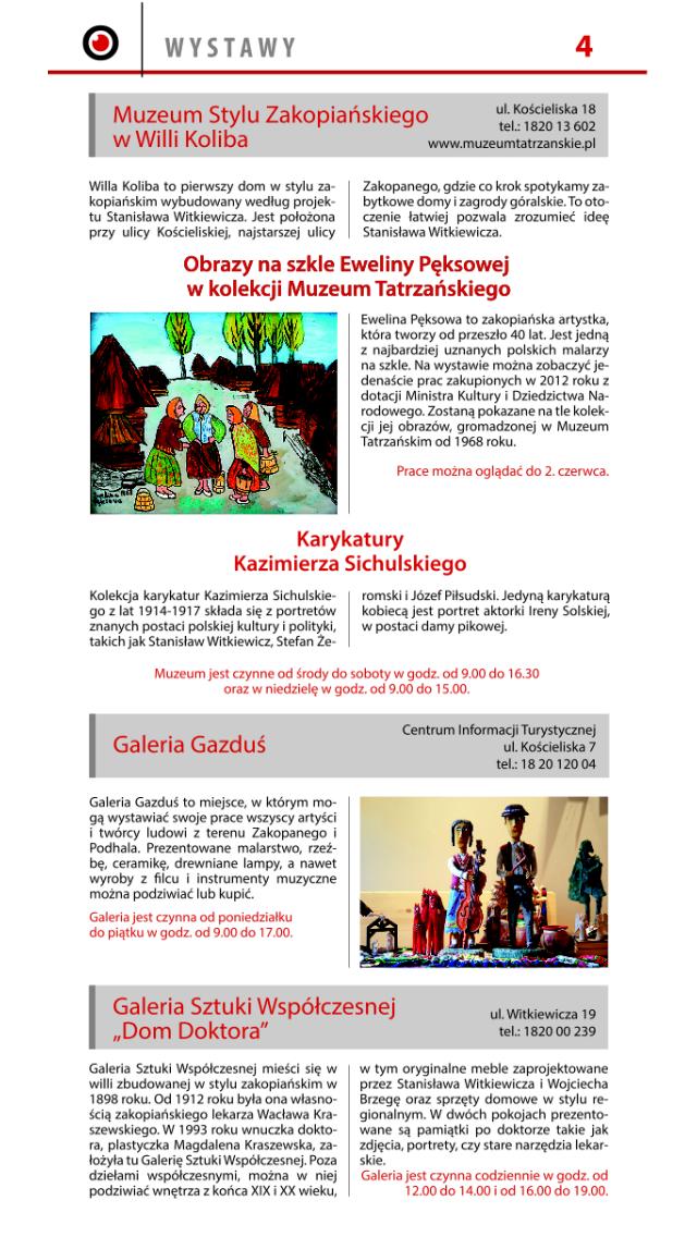 INFOGRAM Zakopiański Informator screenshot four