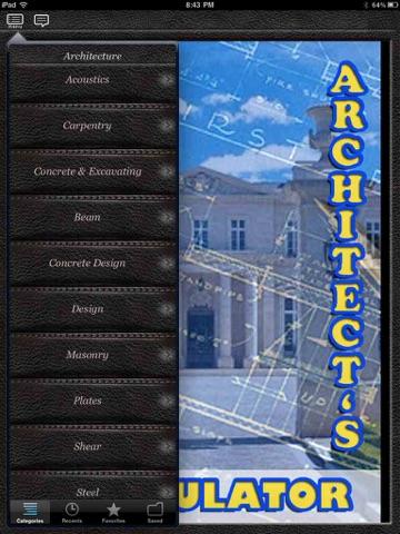 Screenshot of Architect s Formulator