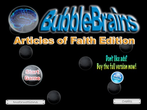 LDS Articles of Faith Bubble Brains HD Free | App Price Drops