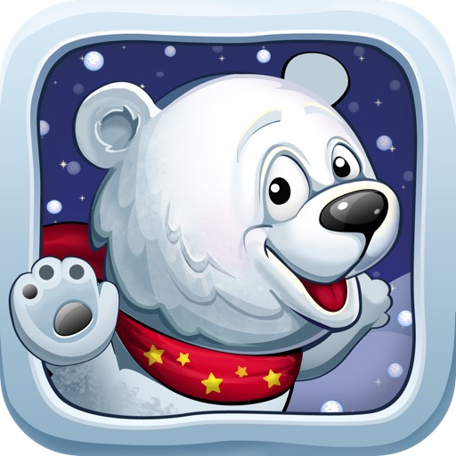 A Snow Ball Running Bear Racing Game - Free Version