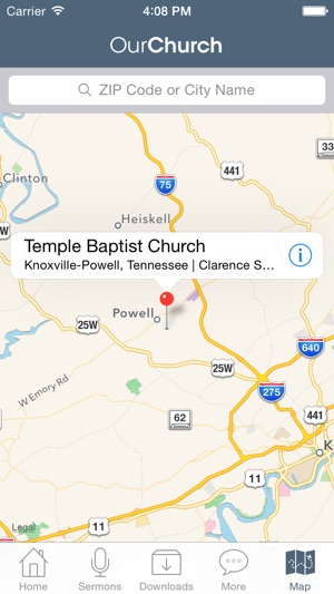 Temple Baptist Church on the App Store