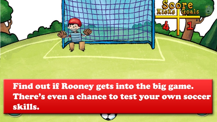 Brave Rooney and the Super-Sized Superheroes - Soccer, Healthy eating, and more - Bacciz screenshot-4