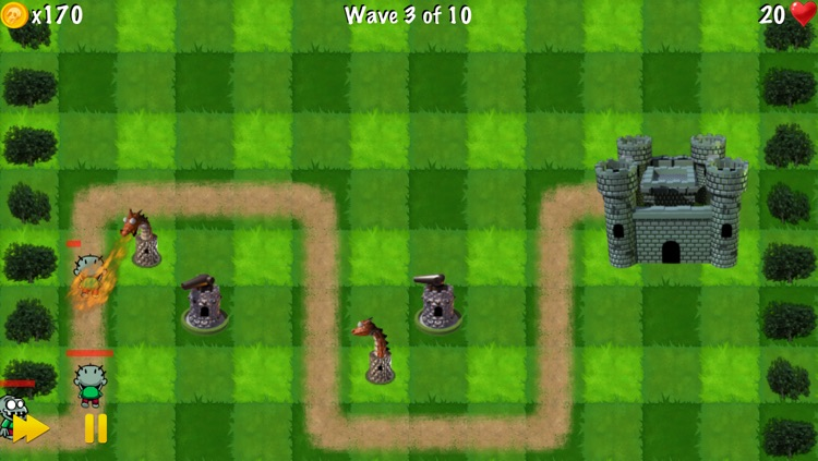 Zombie Tower Shooting Defense Free - by Top Free Games screenshot-3