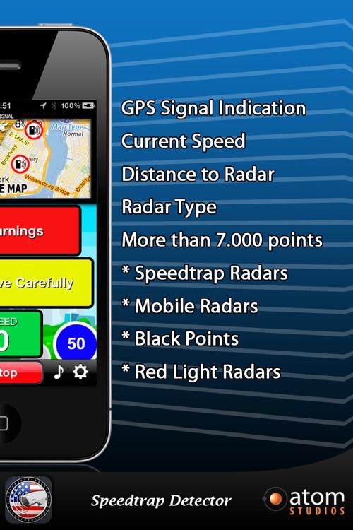 Speedtrap Detector USA