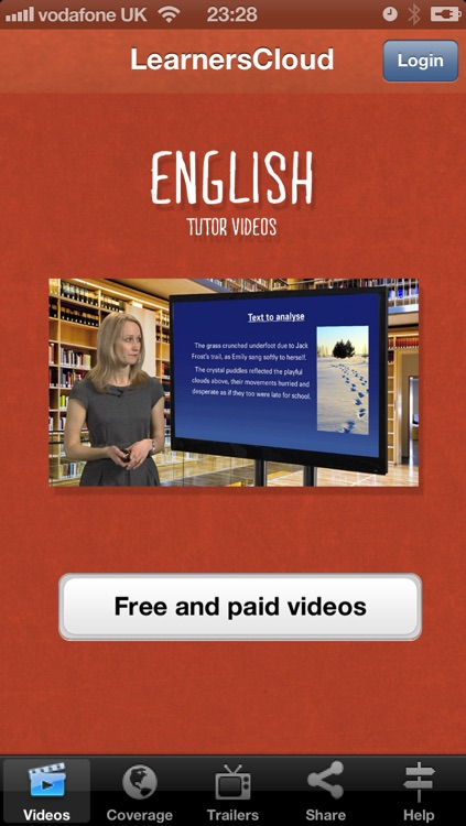 GCSE English Tutor Videos screenshot-0