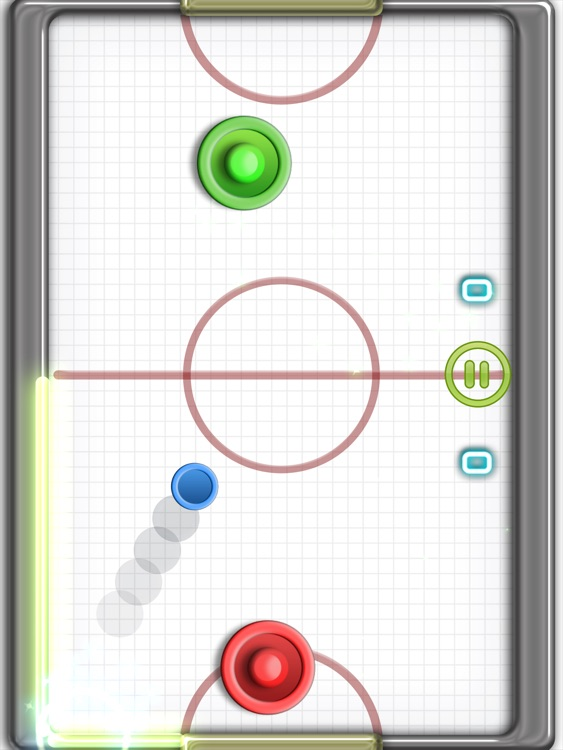 Glow Hockey 2 HD FREE