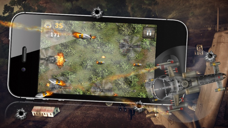 Angry Battle Choppers - A Helicopter War Game! screenshot-4