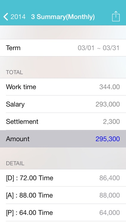 My shift - management work table and salary screenshot-3