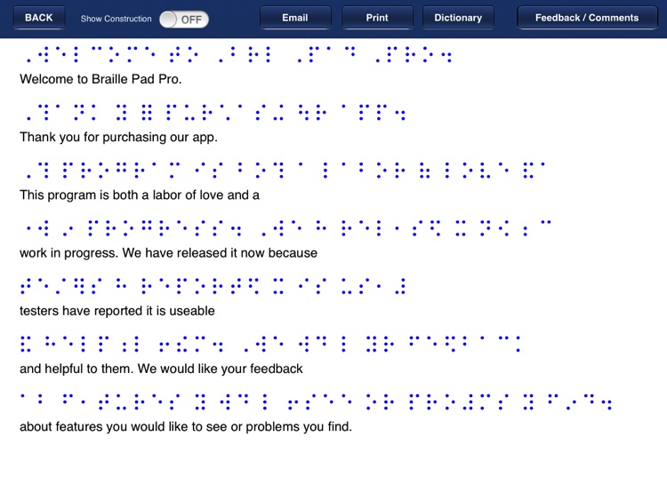 Braille Pad Pro screenshot-4