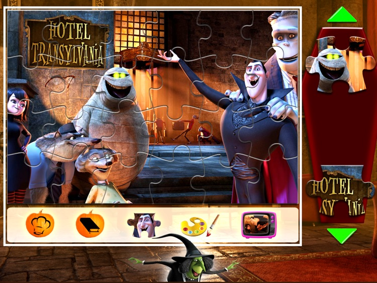 Hotel Transylvania Movie Booklip Deluxe screenshot-3