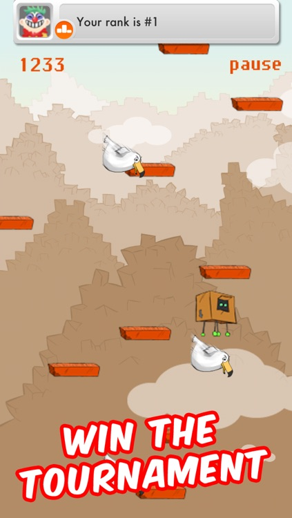 Jump Box Angry with Multiplayer Free – The Best Fun Doodle Platform Game Roll To Mega Heights screenshot-3