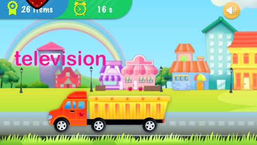 Collect ABC Words - for Preschoolers, babies & kids English Learning Screenshot