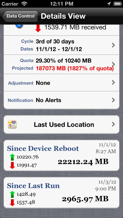 Data Control - Manage Data Usage in Real Time screenshot-3