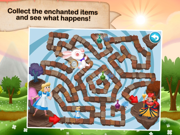Fairytale Maze 123 Free - Fun learning with Children animated puzzle game
