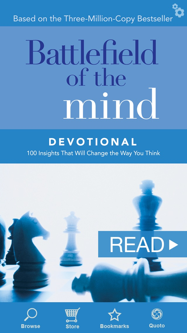 Screenshot for Battlefield of the Mind Devotional in United States App Store