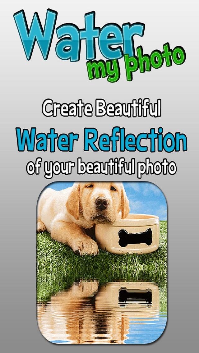 Tumblrの、MSN、IG、FB、PS、KIK、POF用の水の写真リフレクションのスクリーンショット4