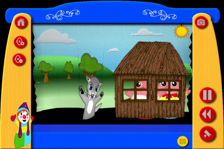 The Three Little Pigs - The Puppet Show screenshot-3
