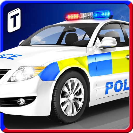 Police Car Parking 3D : Awesome Cop Training Simulator icon